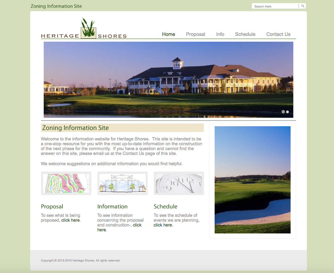 Heritage Shores – A Brookfield Residential Community